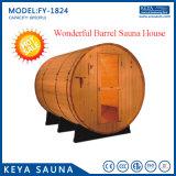 熱い販売のニースの大きい木製のサウナのBarilのヒマラヤスギのサウナの家