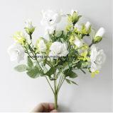Die künstliche Blumen-Silk lila Rosen Wholesale Blumen-Fälschungs-Blumen Wedding Lieferanten die 1 Zoll-Seide Rose