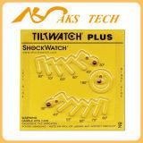 Tiltwatch plus Aufkleber-Neigung-Anzeiger-logistischen Kennsatz