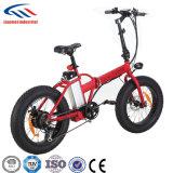 E-Bicicletas elegantes da venda por atacado 250W da fábrica de China, Foldable e portátil