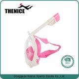 Projeto por atacado da face cheia da máscara do Snorkel máscara do mergulho de uma opinião de 180 graus