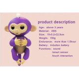 대화식 아기 원숭이 애완 동물 아이들 아이의 장난감 크리스마스를 위한 전자 아기 원숭이 핑거 원숭이