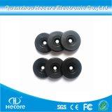 방수 PVC RFID 동전 꼬리표 또는 플라스틱 H3 RFID 아BS 디스크 징표 꼬리표