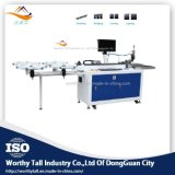 Impressão, máquina industrial de empacotamento do dobrador do CNC da régua de aço dos dados auto