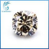 8X8mm 방석 커트 빛 Champage 색깔 보석을%s 느슨한 Moissanite 다이아몬드