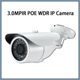 camera van de 3.0MPWDR Poe IP de Waterdichte IRL Kogel