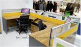 2개의 시트 (BL-243)를 위한 새로운 디자인 L 모양 사무실 워크 스테이션