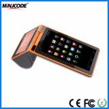 /Tabletの携帯用オールインワン知能端末装置、二重タッチ画面POS命令機械、二重スクリーンPOSターミナル。 POSシステム。 金銭登録機、Mjpc900