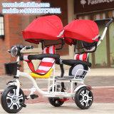Heißes verkaufendes Doppelbaby-Dreirad scherzt Dreirad