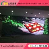 P6 Instalação Fixa a Cores interiores Visor LED LED para o fundo do palco, salas de conferências, eventos (SMD3528 painel de LED preto)