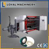 Bande à grande vitesse de papier d'aluminium fendant et machine de rebobinage
