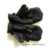 Sporten van Fingerless van het neopreen koelen de Antislip Comfortabele Openlucht de Handschoenen van de Visserij