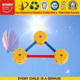 Figura geométrica brinquedos dos brinquedos populares da instrução dos blocos de apartamentos