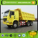 Sinotruk HOWO 20cubic 10는 371 6X4 덤프 트럭을 선회한다