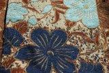 Tela de la flor del Chenille del café y de Brown por la tierra especial