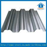 Einfaches zusammengebaut galvanisiertes und gewelltes Stahlfußbodendecking-Blatt