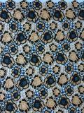 Новая вычура конструкции цветет ткань шнурка полиэфира вышивки для одежды и домашнего тканья