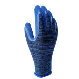 Best-Selling Handschoenen van het Latex van het Schuim van de Stijl Met een laag bedekte Werkende