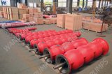 Elevadores eléctricos de eixo longo Overhung turbina vertical da bomba de combate a incêndio de poços