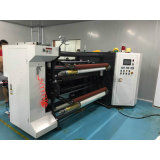 1300mm de alta velocidad CNC Línea de corte longitudinal rebobinadora cortadora longitudinal Película de papel