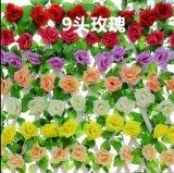 Fleurs artificielles arrêtant la vigne Gu-Sam_0702 de Rose de vigne