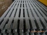 Raspagem de FRP Pultruded aplicada nas plataformas, na passagem & na cerca