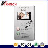 panel táctil TFT-LCD Teléfono Industrial IP Video Portero intercomunicador