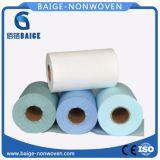 Рр/Woopulp Spunlace нетканого материала ткань для промышленности салфетки