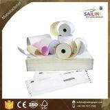 76*76 de Carbono de 2 capas menos rollo de papel