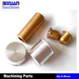 Do alumínio de alumínio da peça da peça do CNC da porca de alumínio peças de giro fazendo à máquina