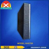 Profil en aluminium d'extrusion approuvée de GV de radiateur de soudeuse pour le radiateur