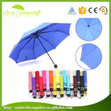 Зонтик створки зонтика 3 самого дешевого руководства открытый рекламируя