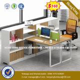 Partition MDF en bois Bureau Cluster Greffier Station de travail du personnel (HX-8N0555)