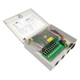 12V10A-9CH Glaskanal CCTV-Stromversorgungen-Kasten der sicherung-9