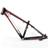 Aleación de tendido del cable exterior Al6061 Bicicleta de Montaña 24er Marco MTB