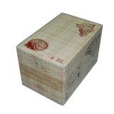 Caixa de embalagem do papel do frasco de vinho de 4 frascos