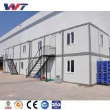 Fábrica de Metal Taller F casa prefabricada de la Oficina de la luz de la construcción de la estructura de acero