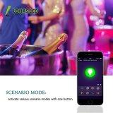 9W A60 B22 Bombilla LED inteligente controlado Smartphone