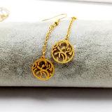 方法宝石類のギフトの女性のステンレス鋼の金のイヤリング