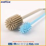 El producto de limpieza de discos de la botella de la fuente de la fábrica modificó el cepillo del silicón para requisitos particulares del color