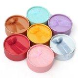 [هوتسل] دائريّ صندوق مجوهرات حلق صندوق مع تشكيل الألوان