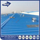低価格の高層速い造りの波形の鋼板が付いているプレハブの鉄骨構造の倉庫