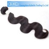 Trame malaisienne de cheveux humains de la pente 6A 100%