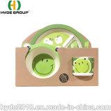 Bebé de plástico biodegradable Hefei componible grado alimenticio que sirve de fibra de bambú Set Juego de Kid