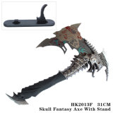 ゾンビの吸血鬼の想像のナイフのホーム装飾品31cm