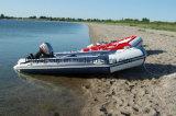 Liya die Opblaasbare Boot met de Vloer van het Aluminium vouwen