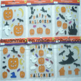 Halloween 반짝임 Windows 묵 훈장 또는 젤 스티커