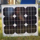 Haute efficacité panneau solaire Mono 30W pour batterie 12V