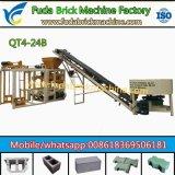 Brique semi automatique de trottoir de Qt4-24b faisant la machine sabler la machine de bloc