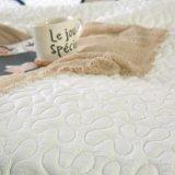 Trapunta imbottita bianca 100% del cotone di stile americano per gli assestamenti
